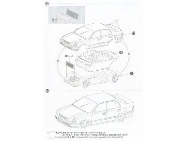 Aoshima Beemax - Toyota Corona [ST191] 94' JTCC, Mastelis: 1/24, 10396, 24013 19