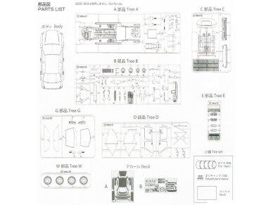 Beemax - Toyota Corona [ST191] 94' JTCC, Mastelis: 1/24, 24013 20