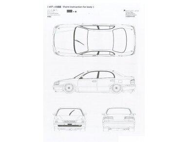 Aoshima Beemax - Toyota Corona [ST191] 94' JTCC, Mastelis: 1/24, 10396, 24013 10