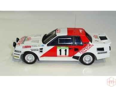 Aoshima Beemax - Toyota TA64 Celica `84 Portugal Rally Version, Mastelis: 1/24, 10314, 24011 2