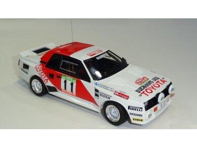 Aoshima Beemax - Toyota TA64 Celica `84 Portugal Rally Version, Mastelis: 1/24, 10314, 24011 3