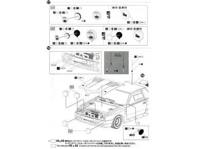 Aoshima Beemax - Toyota TA64 Celica `84 Portugal Rally Version, Mastelis: 1/24, 10314, 24011 23