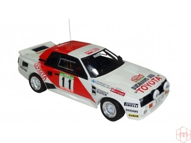 Aoshima Beemax - Toyota TA64 Celica `84 Portugal Rally Version, Mastelis: 1/24, 10314, 24011 5