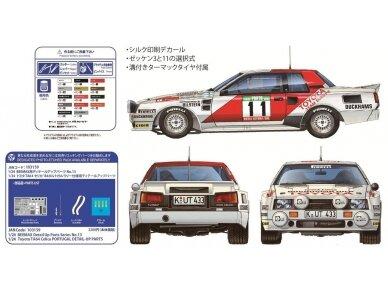 Aoshima Beemax - Toyota TA64 Celica `84 Portugal Rally Version, Mastelis: 1/24, 10314, 24011 6
