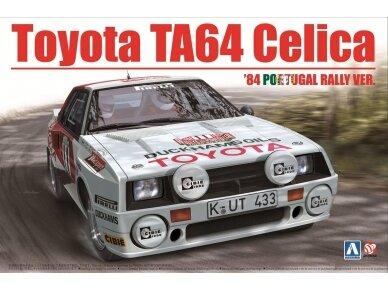 Aoshima Beemax - Toyota TA64 Celica `84 Portugal Rally Version, Mastelis: 1/24, 10314, 24011
