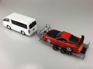 Aoshima - Brian James Trailers A4 Transporter, Mastelis: 1/24, 05260 4