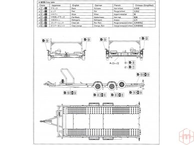 Aoshima - Brian James Trailers A4 Transporter, Mastelis: 1/24, 05260 8