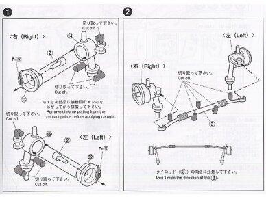 Aoshima - Car Boutique Club Toyota Sprinter Trueno AE86, Mastelis: 1/24, 04775 12