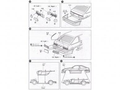 Aoshima - Car Boutique Club Toyota Sprinter Trueno AE86, Mastelis: 1/24, 04775 6
