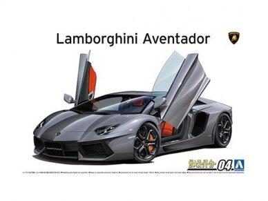 Aoshima - '11 Lamborghini Aventador LP700-4, Mastelis: 1/24, 05864