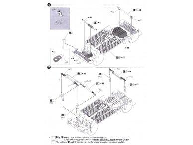 Beemax - EF3 Honda Civic Gr.A `89 PIAA, Mastelis: 1/24, B24005 19