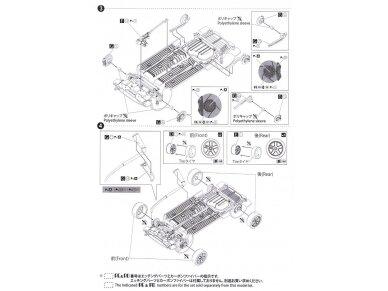 Beemax - EF3 Honda Civic Gr.A `89 PIAA, Mastelis: 1/24, B24005 20