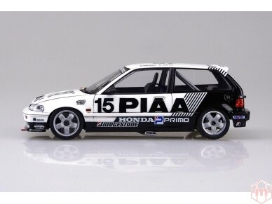 Beemax - EF3 Honda Civic Gr.A `89 PIAA, Scale: 1/24, B24005 3