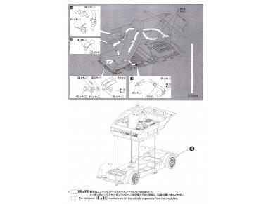 Beemax - EF3 Honda Civic Gr.A `89 PIAA, Scale: 1/24, B24005 23