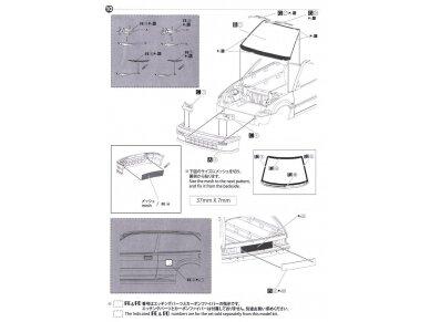 Beemax - EF3 Honda Civic Gr.A `89 PIAA, Mastelis: 1/24, B24005 25