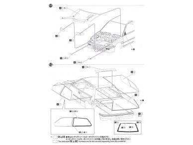 Beemax - EF3 Honda Civic Gr.A `89 PIAA, Mastelis: 1/24, B24005 26