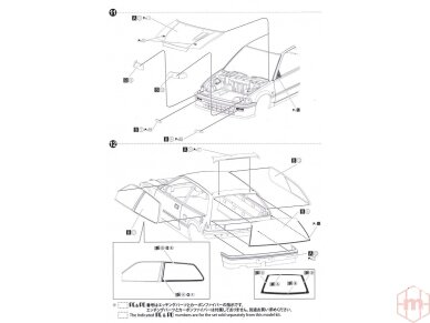 Beemax - EF3 Honda Civic Gr.A `89 PIAA, Scale: 1/24, B24005 26