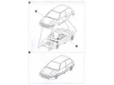 Beemax - EF3 Honda Civic Gr.A `89 PIAA, Mastelis: 1/24, B24005 29