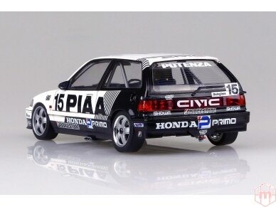 Beemax - EF3 Honda Civic Gr.A `89 PIAA, Mastelis: 1/24, B24005 6