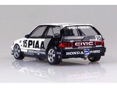 Beemax - EF3 Honda Civic Gr.A `89 PIAA, Scale: 1/24, B24005 6