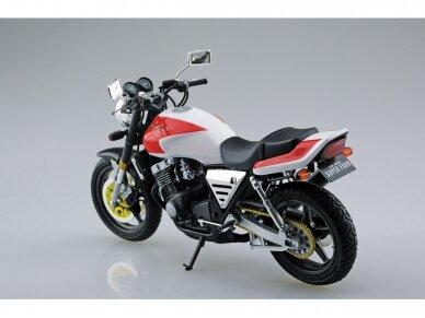 Aoshima - Honda CB400 Surer Four 1982 w/Custom Parts, Mastelis: 1/12, 05514 2