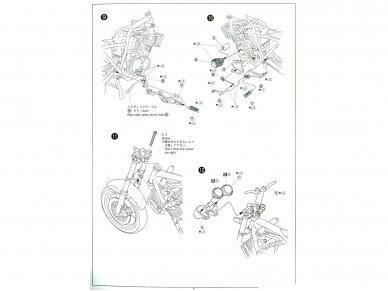 Aoshima - Honda CB400 Surer Four 1982 w/Custom Parts, Mastelis: 1/12, 05514 13