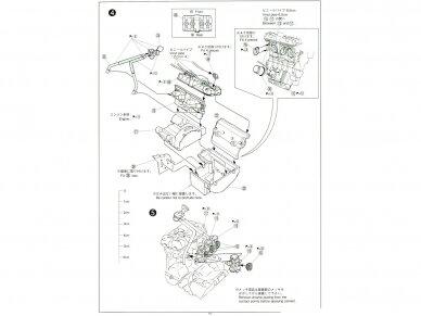 Aoshima - Honda CB400 Surer Four 1982 w/Custom Parts, Mastelis: 1/12, 05514 17