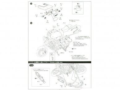 Aoshima - Honda CB400 Surer Four 1982 w/Custom Parts, Mastelis: 1/12, 05514 20