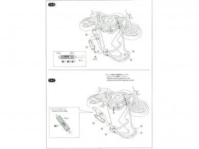 Aoshima - Honda CB400 Surer Four 1982 w/Custom Parts, Mastelis: 1/12, 05514 21