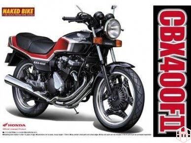 Aoshima - Honda CBX400FII, Mastelis: 1/12, 04627