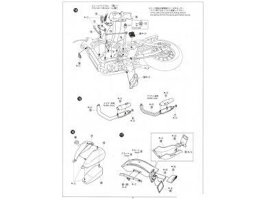 Aoshima - Honda steed 400VSE, Mastelis: 1/12, 05398 19
