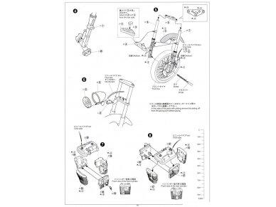 Aoshima - Honda steed 400VSE, Mastelis: 1/12, 05398 27