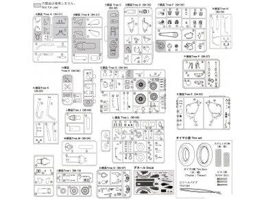 Aoshima - Honda steed 400VSE, Mastelis: 1/12, 05398 32