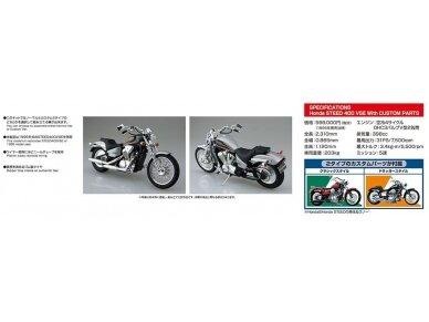 Aoshima - Honda steed 400VSE, Mastelis: 1/12, 05398 5
