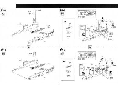 Aoshima - IJN Povandeninis laivas I-58, Mastelis: 1/350, 01225 11