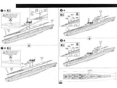 Aoshima - IJN Povandeninis laivas I-58, Mastelis: 1/350, 01225 12