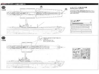 Aoshima - IJN Povandeninis laivas I-58, Mastelis: 1/350, 01225 16