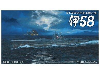 Aoshima - IJN Povandeninis laivas I-58, Mastelis: 1/350, 01225