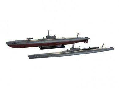 Aoshima - IJN Submarine I-19, Mastelis: 1/700, 05208 2