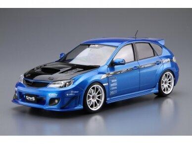 Aoshima - Ings GRB Subaru Impreza WRX STI '07, Mastelis: 1/24, 05423 2