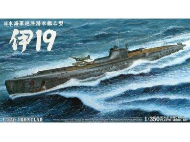 Aoshima - Japanese submarine I-19, Mastelis: 1/350, 04734