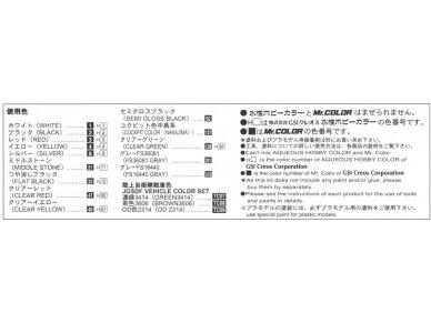 Aoshima - JGSDF apžvalgos sraigtasparnis, Mastelis: 1/72, 01434 12
