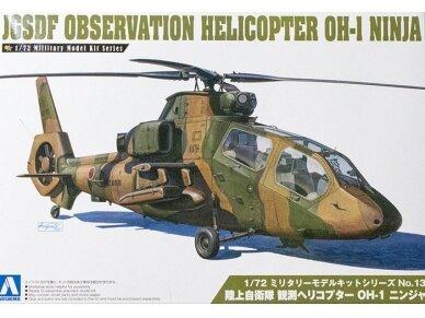 Aoshima - JGSDF apžvalgos sraigtasparnis, Mastelis: 1/72, 01434