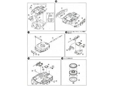 Aoshima - JGSDF Maneuver Combat Vehicle MCV Prototype, Mastelis: 1/72, 01017 14