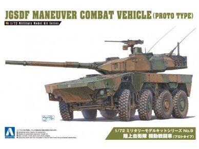 Aoshima - JGSDF Maneuver Combat Vehicle MCV Prototype, Mastelis: 1/72, 01017