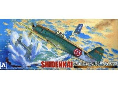Aoshima - Kawanishi N1K2-J Shidenkai, Mastelis: 1/72, 01174