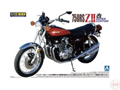 Aoshima - Kawasaki 750Rs Zii Super, Mastelis: 1/12, 04178