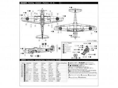 Aoshima - Kawasaki Ki-100 Type 5 Otsu, Mastelis: 1/72, 00812 4