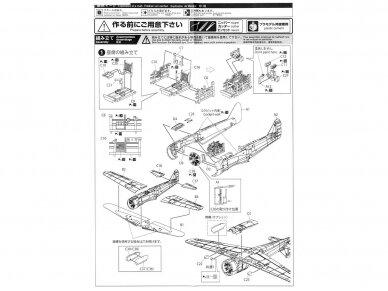 Aoshima - Kawasaki Ki-100 Type 5 Otsu, Mastelis: 1/72, 00812 5