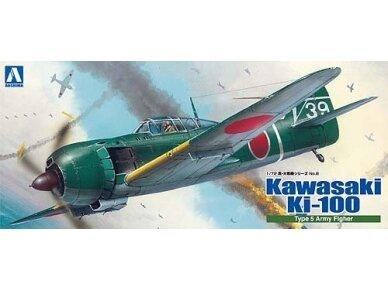 Aoshima - Kawasaki Ki-100 Type 5 Otsu, Mastelis: 1/72, 00812